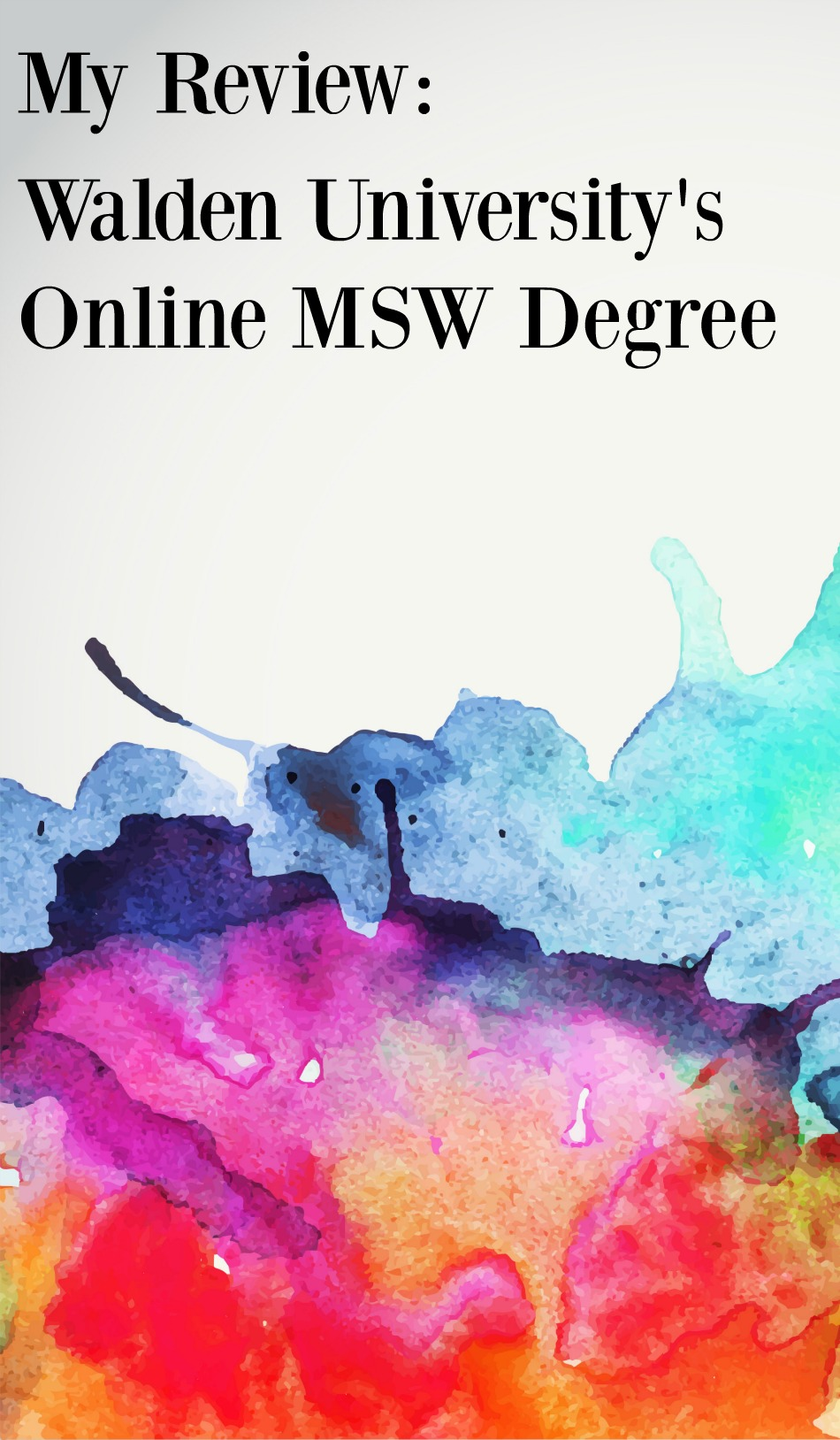 Online Masters Social Work Degree at Walden University